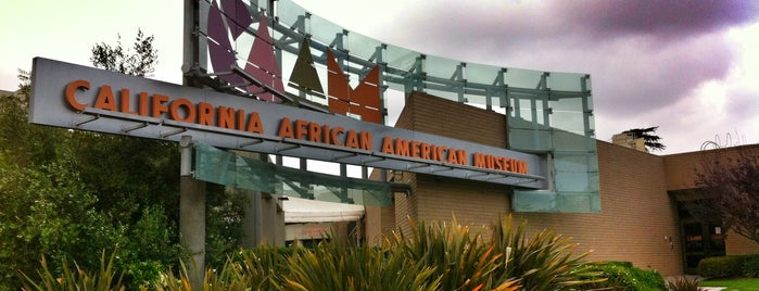 California African American Museum is one of L.A. to do.