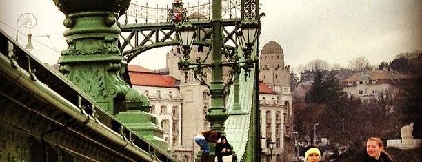 Liberty Bridge is one of budapesti hidak.