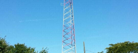 CPD CFD Radio Tower Site is one of Work.