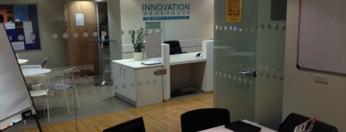 Innovation Warehouse London is one of Silicon Roundabout / Tech City London (Open List).