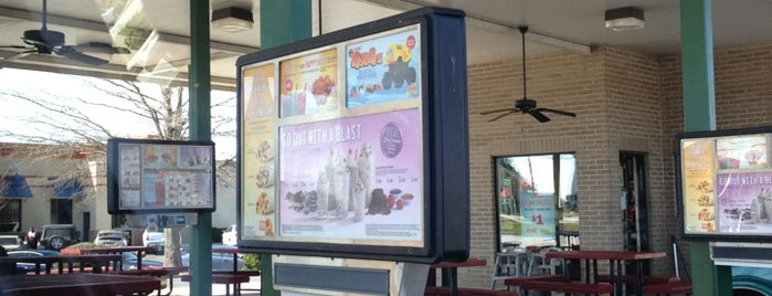 SONIC Drive In is one of Must-visit Fast Food Restaurants in Mooresville.