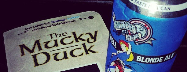 Mucky Duck is one of FAVORITE 5 SPORTS BARS IN DAL (2011).