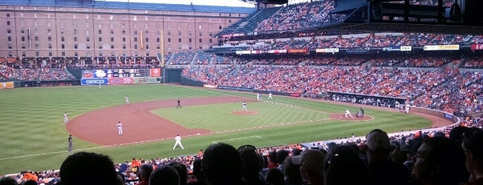 Oriole Park at Camden Yards is one of SidJacks's Tips.