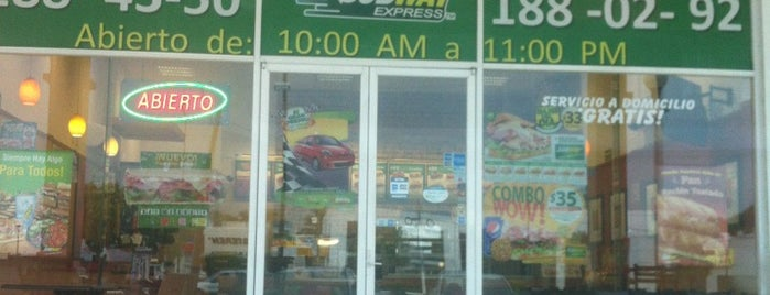 Subway is one of Acapulco.