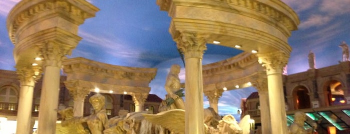 Festival Fountain - The Forum Shops at Caesars Palace is one of Favorite places I've visited.