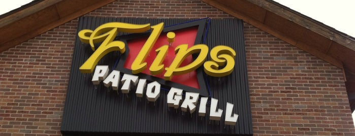 Flips Patio Grill is one of Favorite Food Joints.