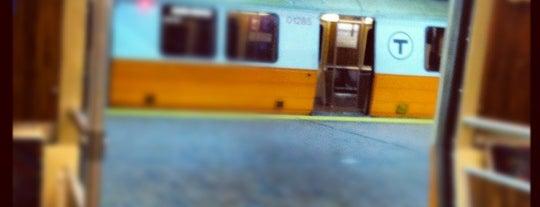 MBTA Forest Hills Station is one of Boston MBTA Stations.