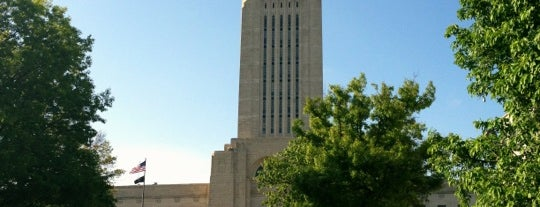 Nebraska State Capitol Building is one of The Crowe Footsteps.