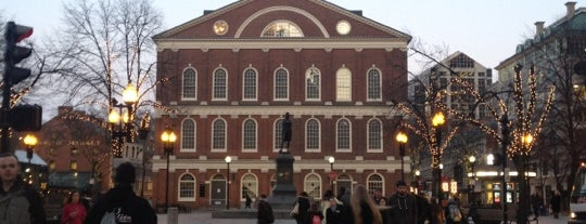 Faneuil Hall Marketplace is one of Boston City Badge - Beantown.