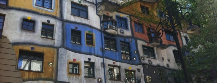 Hundertwasserhaus is one of StorefrontSticker #4sqCities: Vienna.