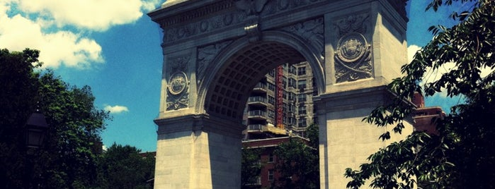 Washington Square Park is one of NYC I see.