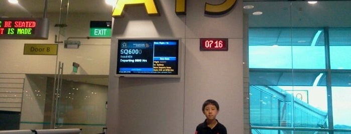 Gate A19 is one of SIN Airport Gates.