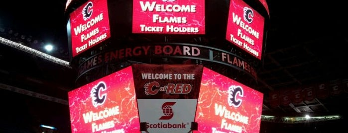 Scotiabank Saddledome is one of JYM Hockey Arenas TOP100.