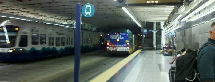 University Street LINK Station is one of LIFE IN SEATTLE, WA!!.