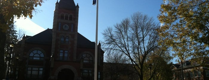 UNH Flag Pole is one of UNH Landmarks.