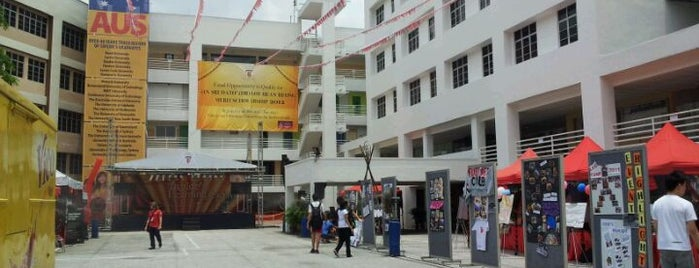 Taylor's College Subang Jaya is one of Cool KL.