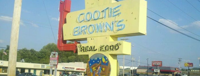 Cootie Brown's is one of ELS/Johnson City.