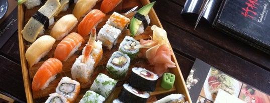 Bambuszliget Japán Étterem & Sushi Bár is one of Badge ¤ Bento.