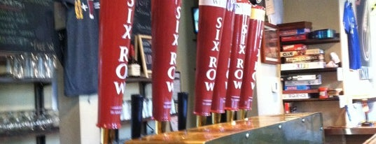 Six Row Brewing Company is one of Breweries of St. Louis.