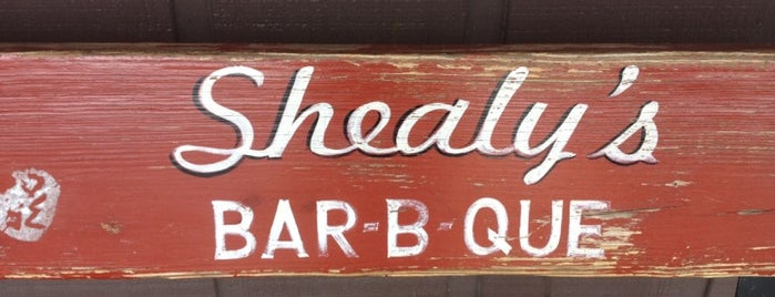 Shealy's Bar-B-Que is one of South Carolina Barbecue Trail - Part 1.