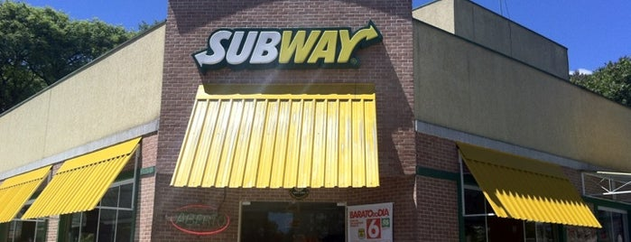 Subway is one of Favorite Food.