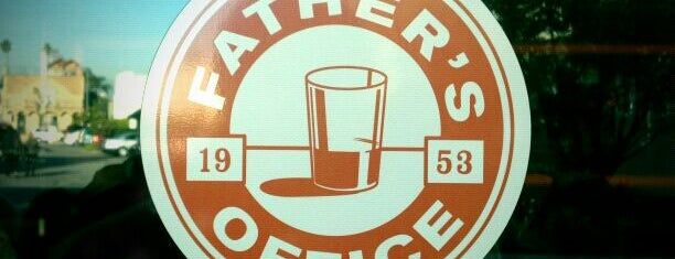 Father's Office is one of Favorite Food - LA.