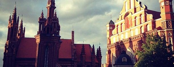 Šv. Onos Bažnyčia | St Anne's Church is one of Vilnius: student edition.