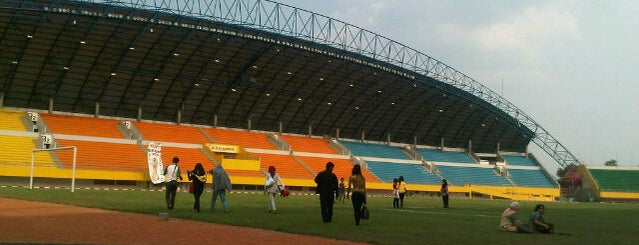 Stadion Gelora Sriwijaya (GSJ) is one of All TIP.