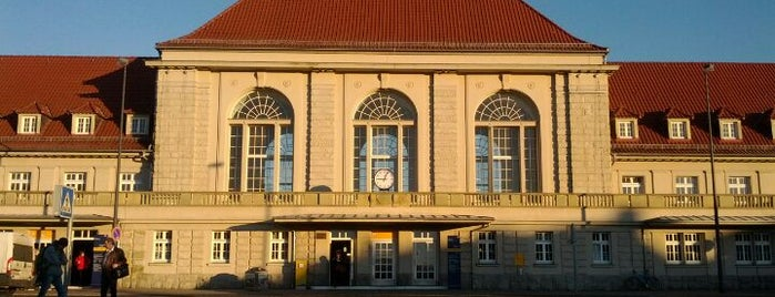 Weimar Hauptbahnhof is one of Ausgewählte Bahnhöfe.
