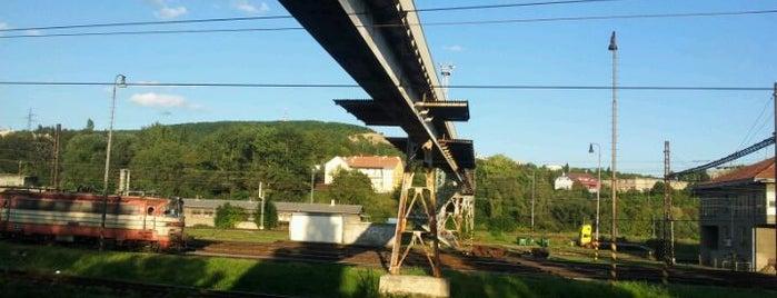 Most nad nádražím Brno-Maloměřice is one of The Best of Brno #4sqCities.