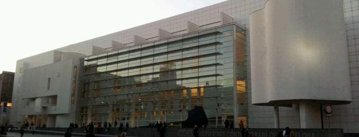 Museu d'Art Contemporani de Barcelona (MACBA) is one of Unsere TOP Empfehlungen für Barcelona.