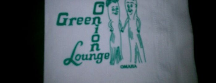 Green Onion Lounge is one of Cracken's Matchbook Collection.