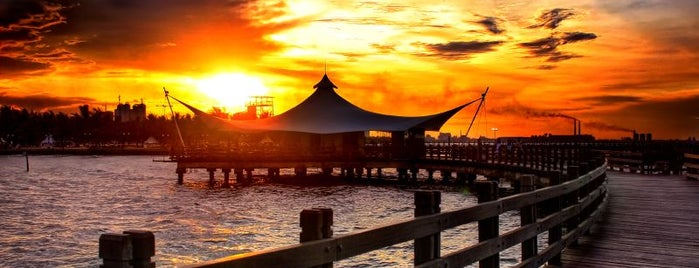Ancol Beach is one of Must Visit Places in Jakarta ( Indonesia ).
