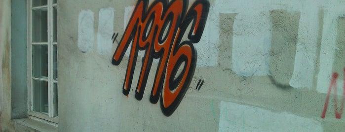 Street Art - Graffiti - 1996 vol V is one of Street Art w Krakowie: Graffiti, Murale, KResKi.