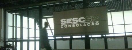 Sesc Consolação is one of Alguns lugares que eu adoro.