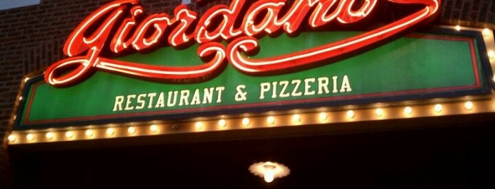 Giordano's is one of Guide to Chicago's best spots.