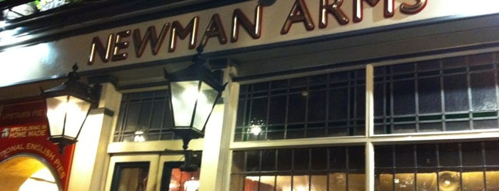 Newman Arms is one of Piehunter Recommends.