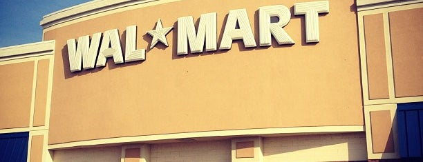 Walmart is one of been here.