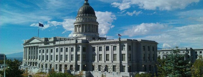 Utah State Capitol Building is one of The Crowe Footsteps.