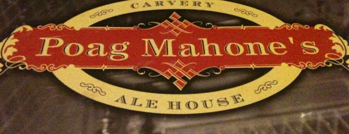 Poag Mahone's is one of 100 Best things we ate (and drank) in 2011.