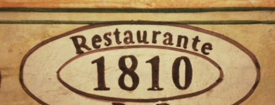 1810 Restaurante Bar is one of Comida.