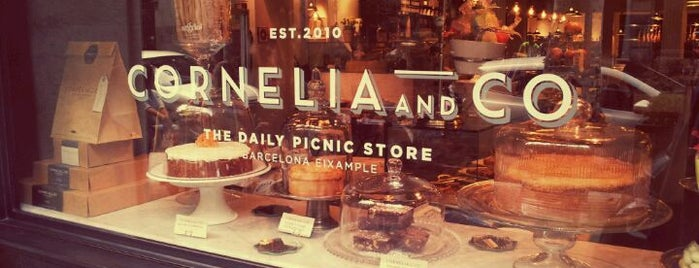 Cornelia and Co. is one of Breakfast and nice cafes in Barcelona.