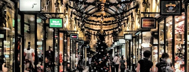 The Royal Arcade is one of Quintessential Melbourne.