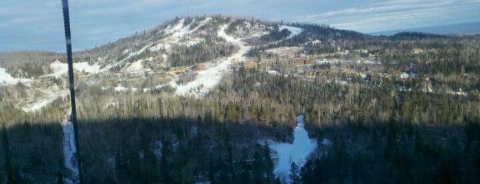 Lutsen Mountains Ski Area is one of Skiing in Minnesota.