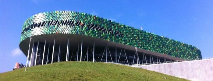 Bilbao Arena is one of let's get Bilbao's badge (Spain) #4sqCities.