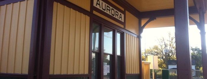Aurora GO Station is one of Cosas por hacer en Toronto.