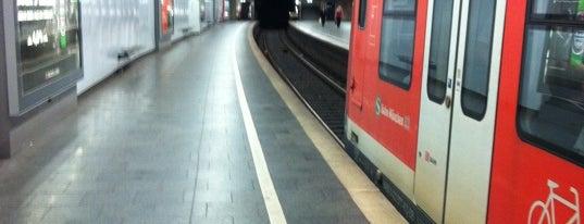 S+U Marienplatz is one of München S-Bahnlinie 4.