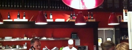 Manzo at Eataly is one of Mario Batali Badge.