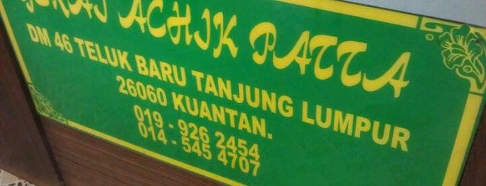 Gerai Achik Patta, Tanjung Lumpur, Kuantan is one of Makan @ Pahang #1.