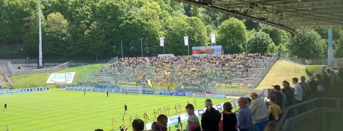 Stadion am Zoo is one of Stadiums.